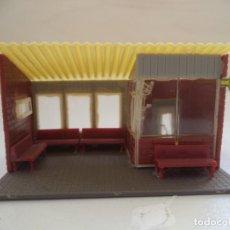 Trenes Escala: PARADA DE AUTOBUS ESCALA HO. Lote 190362437