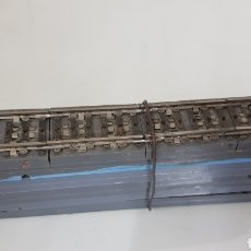 Trains Échelle: LOTE DE 10 VÍAS PAYA 1617 ESCALA H0 PARA PATÍN CENTRAL 19 CM. Lote 190453970