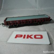 Trenes Escala: VAGÓN PLATAFORMA ESCALA HO DE PIKO . Lote 190626300