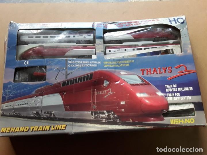 TREN ALTA VELOCIDAD MEHANO THALYS T671 (Juguetes - Trenes Escala H0 - Otros Trenes Escala H0)