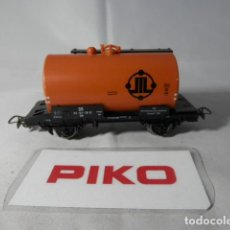 Trenes Escala: VAGÓN CISTERNA ESCALA HO DE PIKO . Lote 191242943