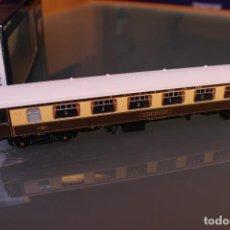 Trenes Escala: BACHMANN. COCHE RESTAURANTE MK1 PULLMAN EMERALD (CON LUZ EN LAS MESAS). Lote 191312118