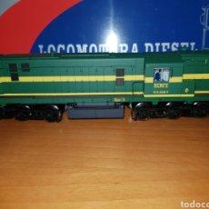 Trenes Escala: MABAR HO LOCOMOTORA DIESEL RENFE 1328 REF.81300 DIGITAL. Lote 191471563