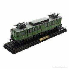 Trenes Escala: E.ABD.5 MIDI 1912 1/87 HO FERROCARRIL LOCOMOTORA VAGONES ATLAS #06. Lote 191490250