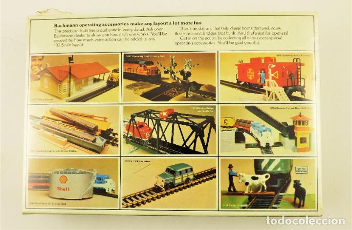 Trenes Escala: Bachmann 1441 H0 Depósito de aceite con luz - Foto 2 - 201469746