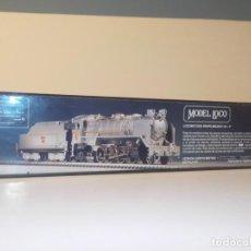 Trenes Escala: KIT MODEL LOCO LOCOMOTORA MIKADO 141 F METAL Y LATÓN. MOTORIZADA.. Lote 191873705