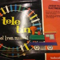 Trenes Escala: JUEGO TELE TIN. EL TREN MUSICAL. VER ESTADO EN FOTOS.. Lote 192150370