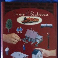 Trenes Escala: TREN ELÉCTRICO ARCHIVADOR CON 46 FICHAS DEL CLUB INTERNACIONAL DEL LIBRO. Lote 192176627