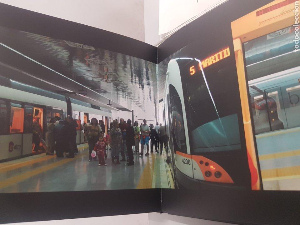 Trenes Escala: Ferrocarril. Libro conmemorativo linea 5 metroValencia - Foto 3 - 192486112