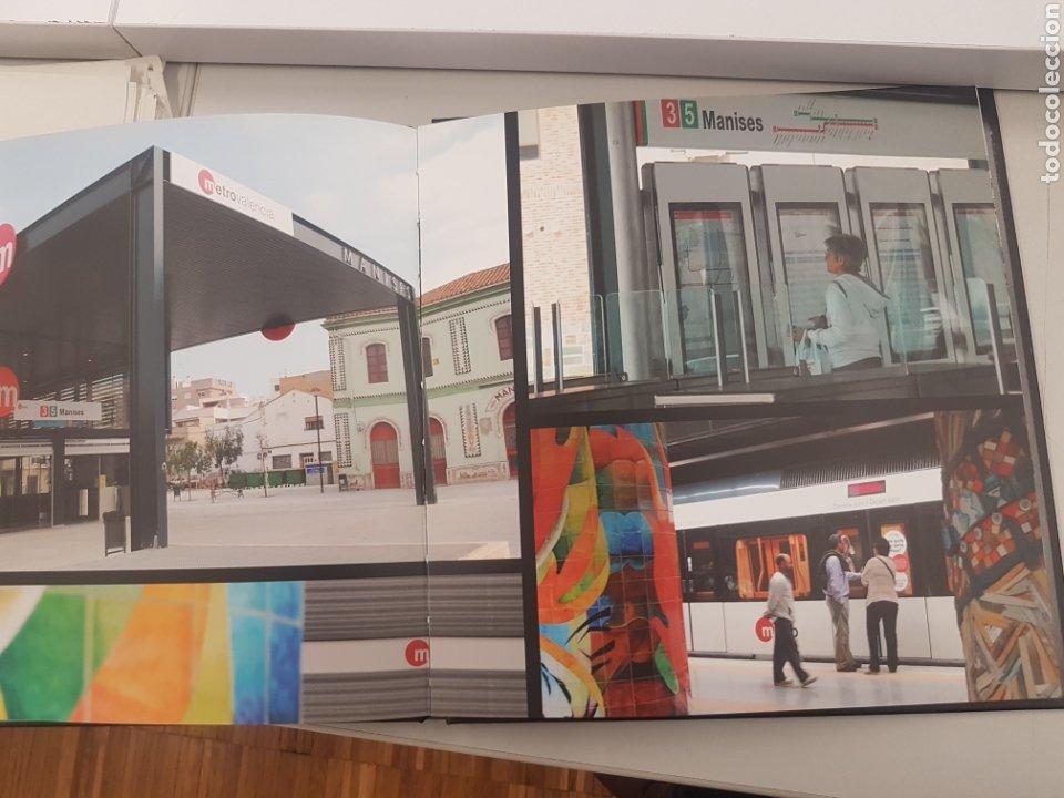 Trenes Escala: Ferrocarril. Libro conmemorativo linea 5 metroValencia - Foto 4 - 192486112
