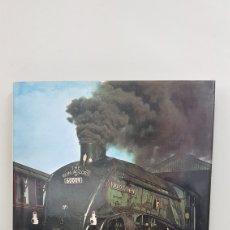 Trenes Escala: LIBRO INGLES TRENES SPELL OF STEAM DE 208 PAG CON FOTOGRAFIAS PARA COLECCIONISTAS 1982 28X22CMS. Lote 192890178