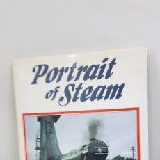 Trenes Escala: LIBRO DE TAPA DURA INGLÉS PORTRAIT OF STEAM ERIC TREACY DE 200 PAG. 28X22CMS. Lote 192890481