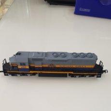 Trenes Escala: LOCOMOTORA MEHANO NORTHERN ALBERTA. Lote 192974925