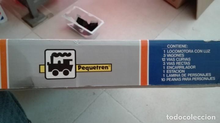 Trenes Escala: Tren electrico a pilas con luz y estacion pequetren ref.602 ,tren correo madrid alicante,nuevo s - Foto 16 - 193258311