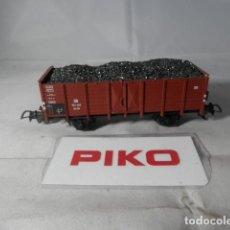 Comboios Escala: VAGÓN BORDE ALTO ESCALA HO DE PIKO. Lote 193296788