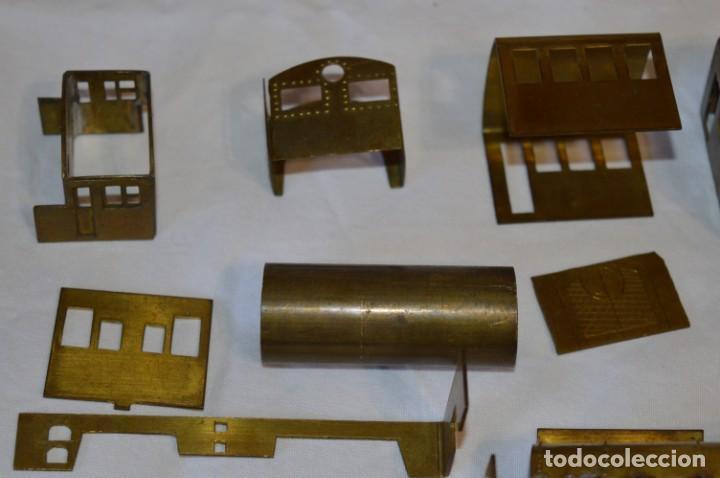 Trenes Escala: Lote piezas H0 / TRAIN KITS, latón y otros, para construcción trenes artesanos ¡Mira fotos/detalles! - Foto 11 - 193681611