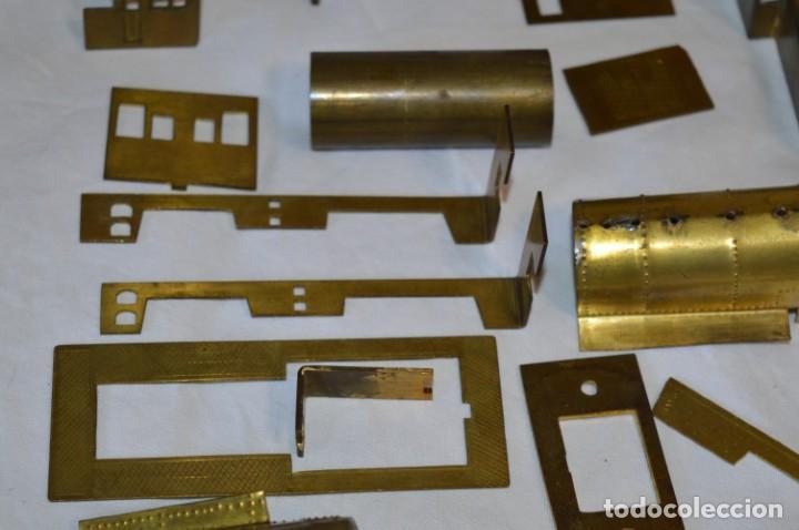 Trenes Escala: Lote piezas H0 / TRAIN KITS, latón y otros, para construcción trenes artesanos ¡Mira fotos/detalles! - Foto 13 - 193681611