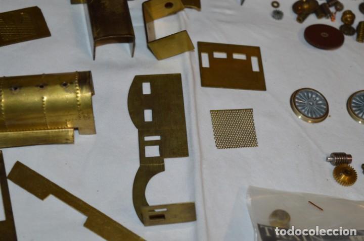 Trenes Escala: Lote piezas H0 / TRAIN KITS, latón y otros, para construcción trenes artesanos ¡Mira fotos/detalles! - Foto 15 - 193681611
