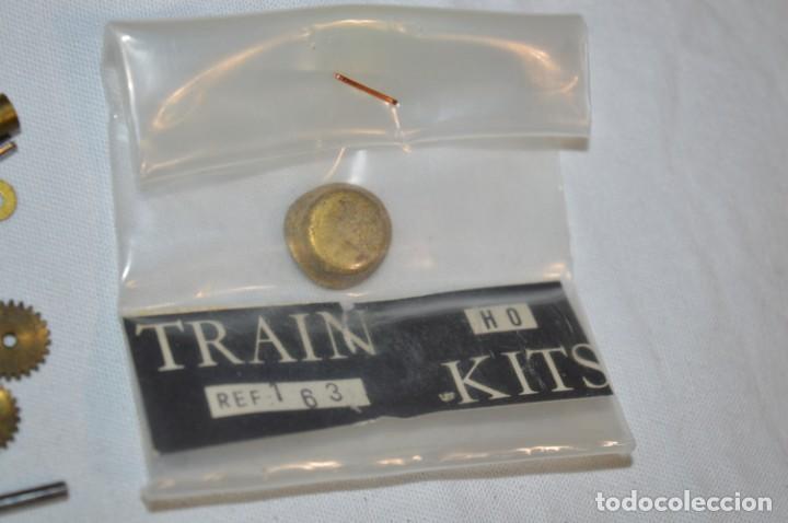 Trenes Escala: Lote piezas H0 / TRAIN KITS, latón y otros, para construcción trenes artesanos ¡Mira fotos/detalles! - Foto 6 - 193681611