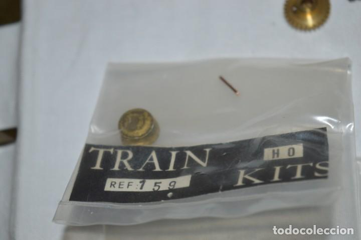 Trenes Escala: Lote piezas H0 / TRAIN KITS, latón y otros, para construcción trenes artesanos ¡Mira fotos/detalles! - Foto 8 - 193681611