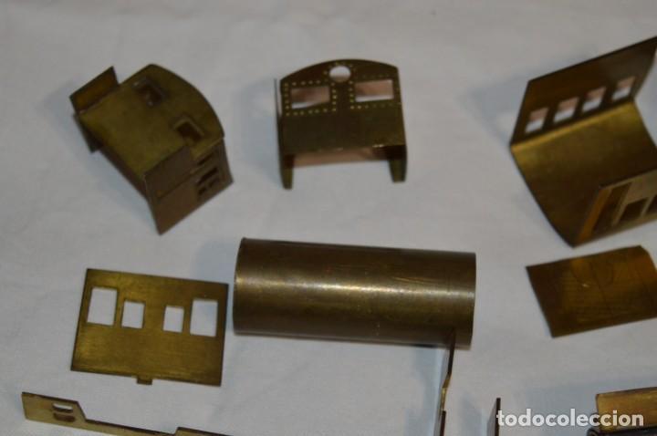 Trenes Escala: Lote piezas H0 / TRAIN KITS, latón y otros, para construcción trenes artesanos ¡Mira fotos/detalles! - Foto 18 - 193681611
