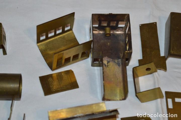 Trenes Escala: Lote piezas H0 / TRAIN KITS, latón y otros, para construcción trenes artesanos ¡Mira fotos/detalles! - Foto 19 - 193681611