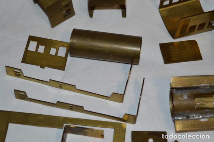 Trenes Escala: Lote piezas H0 / TRAIN KITS, latón y otros, para construcción trenes artesanos ¡Mira fotos/detalles! - Foto 22 - 193681611