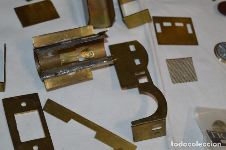 Trenes Escala: Lote piezas H0 / TRAIN KITS, latón y otros, para construcción trenes artesanos ¡Mira fotos/detalles! - Foto 24 - 193681611