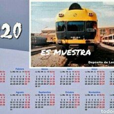 Trenes Escala: CALENDARIO 2020 LEÓN - 432. Lote 194161111