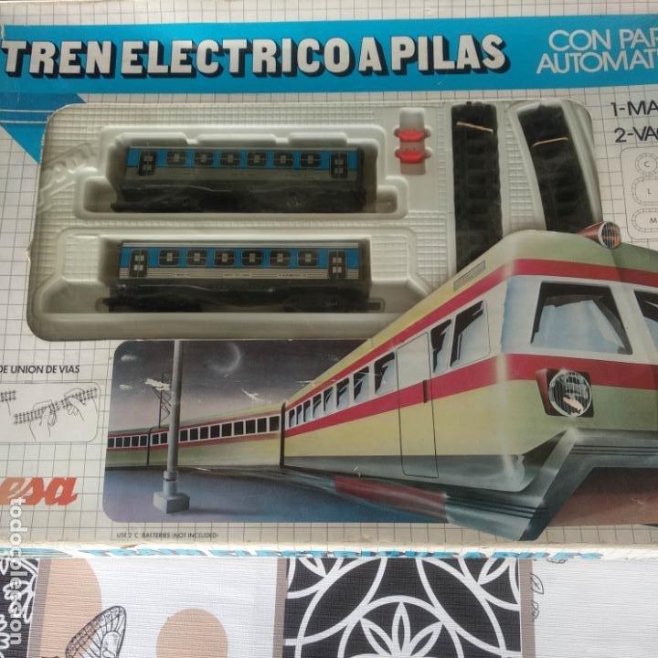 Trenes Escala: Tren Eléctrico pilas jyesa ibi renfe muy buen estado funcionando - Foto 2 - 194188295