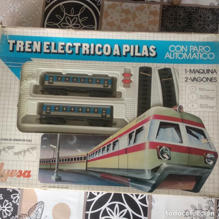 Trenes Escala: Tren Eléctrico pilas jyesa ibi renfe muy buen estado funcionando - Foto 3 - 194188295