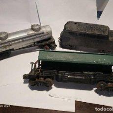Trenes Escala: 3 PIEZAS LIONEL AÑOS 50 USA. Lote 194191702