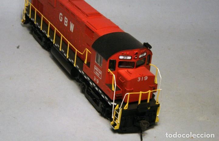 Trenes Escala: ATLAS. Escala H0. Locomotora ALCO C424. Green Bay & Western #319. Digital. - Foto 3 - 194287880