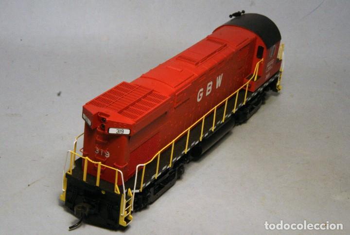 Trenes Escala: ATLAS. Escala H0. Locomotora ALCO C424. Green Bay & Western #319. Digital. - Foto 4 - 194287880
