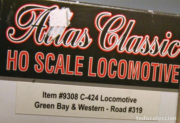 Trenes Escala: ATLAS. Escala H0. Locomotora ALCO C424. Green Bay & Western #319. Digital. - Foto 5 - 194287880