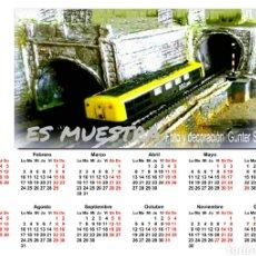 Trenes Escala: CALENDARIO 2020. Lote 194339951