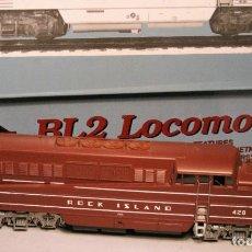 Trenes Escala: PROTO 2000. ESCALA H0. LOCOMOTORA EMD BL2. ROCK ISLAND. #428. DIGITAL. Lote 194382455