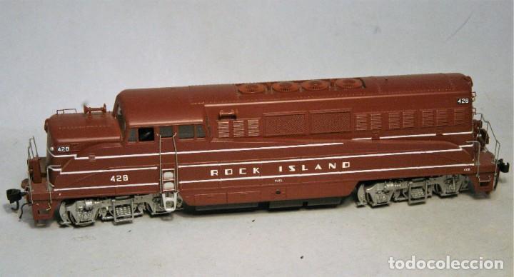 Trenes Escala: PROTO 2000. Escala H0. Locomotora EMD BL2. Rock Island. #428. Digital - Foto 2 - 194382455