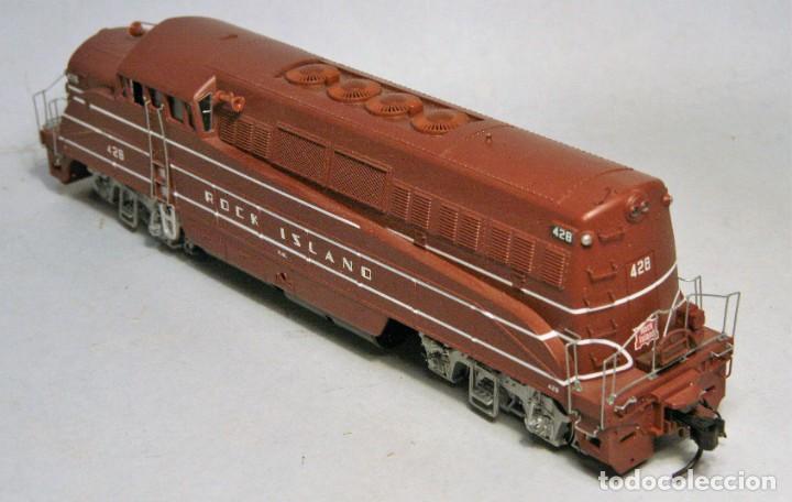 Trenes Escala: PROTO 2000. Escala H0. Locomotora EMD BL2. Rock Island. #428. Digital - Foto 4 - 194382455