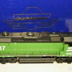 Trenes Escala: ATHEARN GENESIS ESCALA H0 LOCOMOTORA EMD GP38-2. BURLINGTON NORTHERN #2087.DIGITAL-SONIDO. Lote 194384308