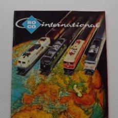 Trenes Escala: 1977, CATALOGO ROCO INTERNATIONAL TRENES N, H0E, H0 Y 0 MODELISMO FERROVIARIO. Lote 194402230