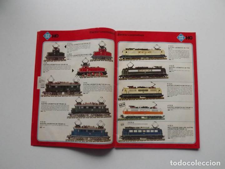 Trenes Escala: 1977, Catalogo ROCO International trenes N, H0e, H0 y 0 modelismo ferroviario - Foto 2 - 194402230