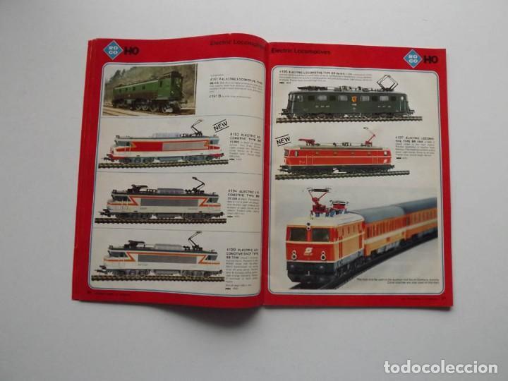 Trenes Escala: 1977, Catalogo ROCO International trenes N, H0e, H0 y 0 modelismo ferroviario - Foto 3 - 194402230