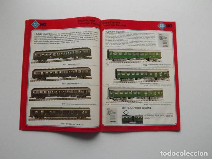 Trenes Escala: 1977, Catalogo ROCO International trenes N, H0e, H0 y 0 modelismo ferroviario - Foto 4 - 194402230