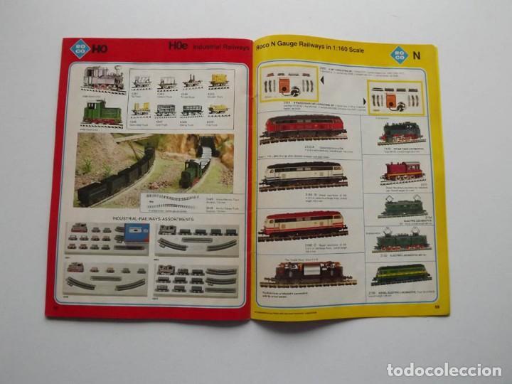Trenes Escala: 1977, Catalogo ROCO International trenes N, H0e, H0 y 0 modelismo ferroviario - Foto 6 - 194402230