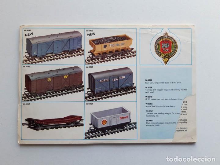 CATÁLOGO DE TRENES WRENN RAILWAYS, MODELISMO FERROVIARIO, SIN PORTADA (Juguetes - Trenes - Varios)