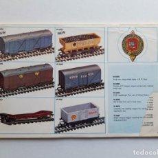 Trenes Escala: CATÁLOGO DE TRENES WRENN RAILWAYS, MODELISMO FERROVIARIO, SIN PORTADA. Lote 194402635