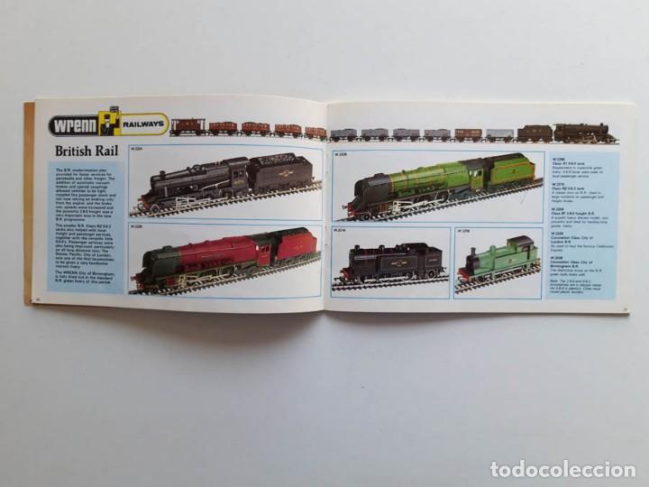 Trenes Escala: Catálogo de trenes Wrenn Railways, modelismo ferroviario, sin portada - Foto 3 - 194402635