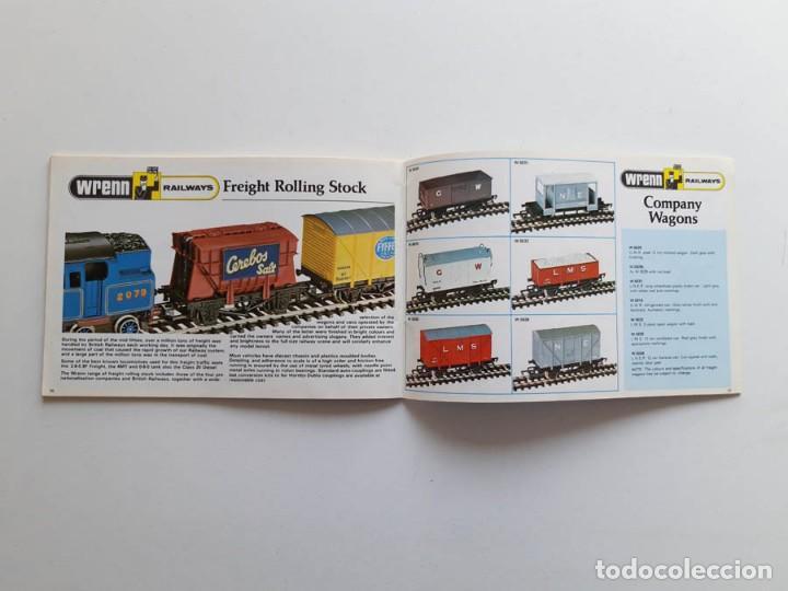 Trenes Escala: Catálogo de trenes Wrenn Railways, modelismo ferroviario, sin portada - Foto 4 - 194402635