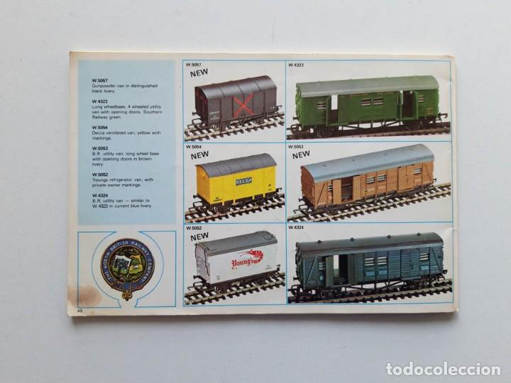 Trenes Escala: Catálogo de trenes Wrenn Railways, modelismo ferroviario, sin portada - Foto 5 - 194402635